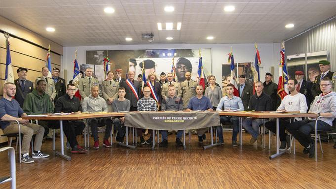 Armée : les jeunes s'engagent à Mont-Saint-Aignan