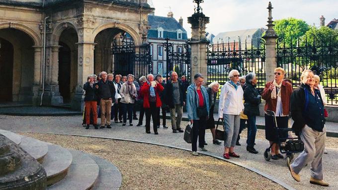 Retour en images sur la visite des aînés à Fécamp