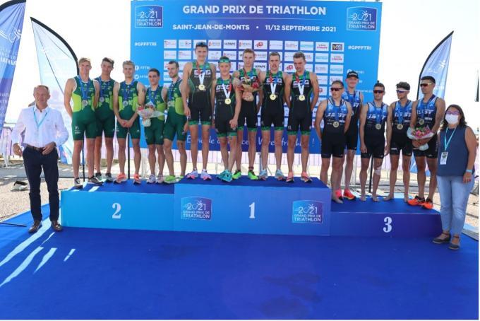 Le MSA triathlon récompensé