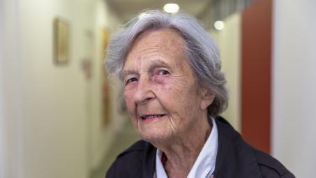 90 ans des Nids : Portrait de Monique Martin